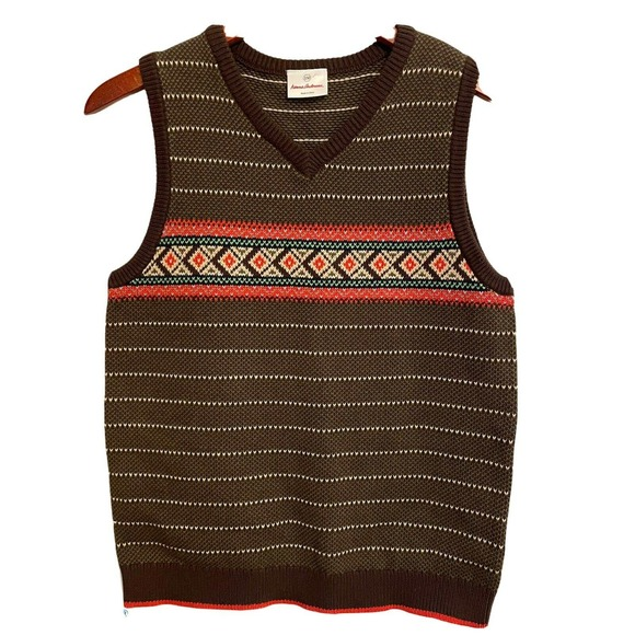 SOLD Hanna Andersson Nordic Sweater Vest 150 cm